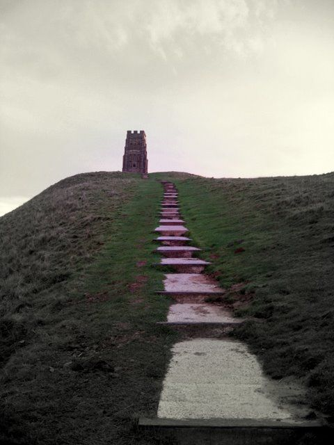 ascending the steps to the tor