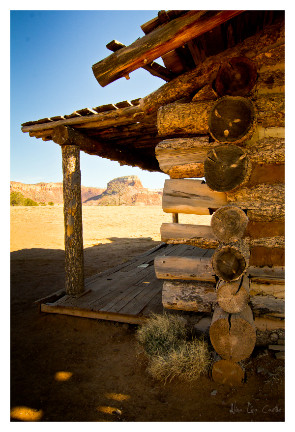 Cabin at Ghost Ranch