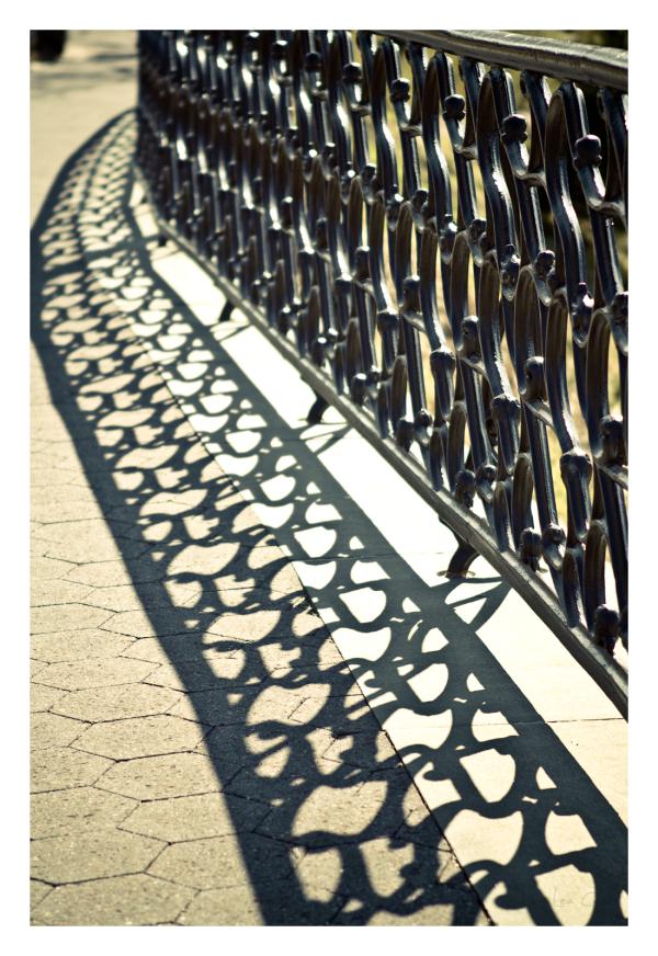 Patterned Walkway
