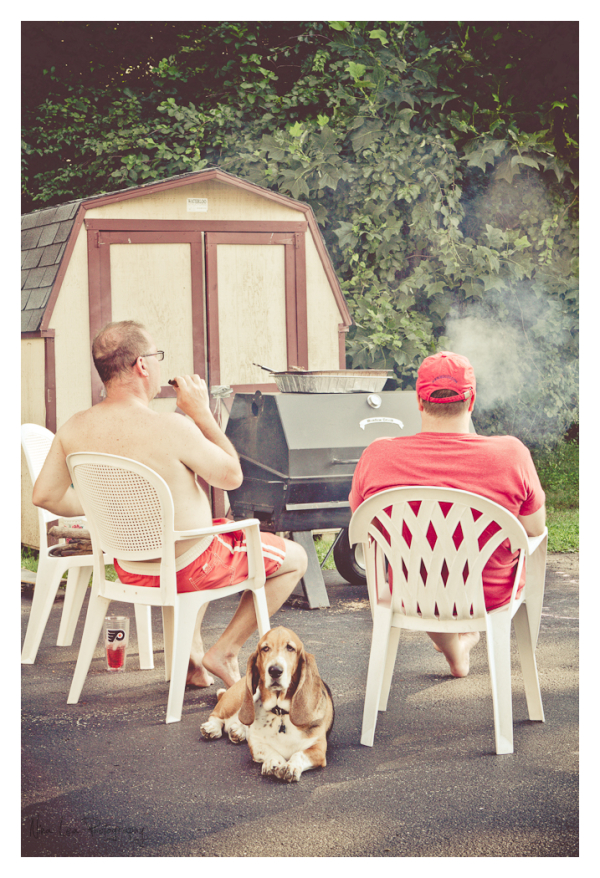 2 Guys, a Dog, and a Smoker