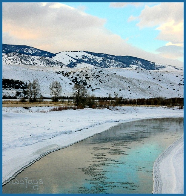 Melting Yellowstone reflections