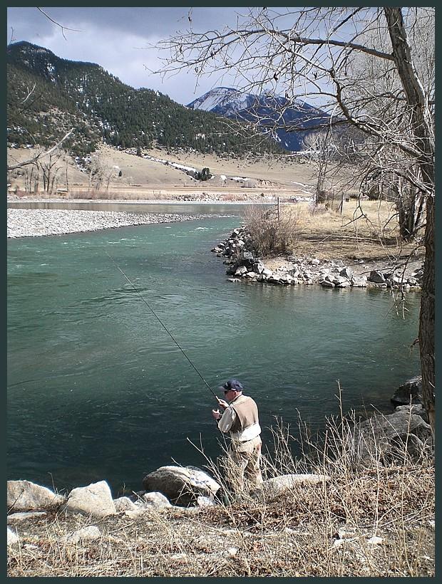 Yellowstone Fisherman