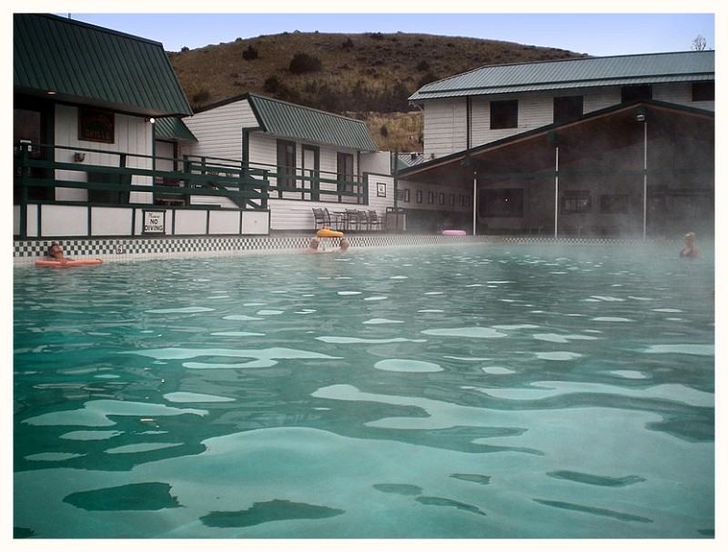 Warm springs pool