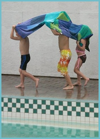 Chico Hot Sporings pool play