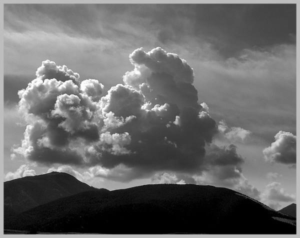 Cloud Scupture.