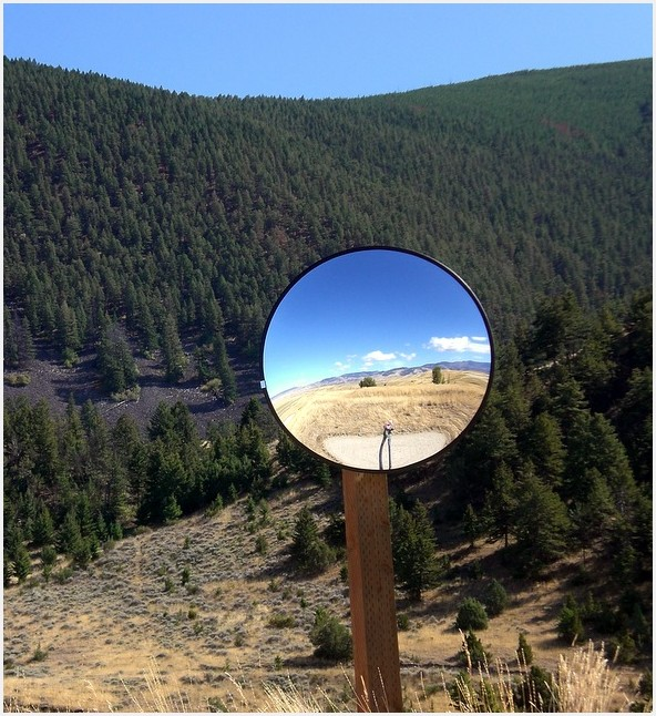 Rural Road Mirror