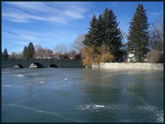 Sacajewea's Frozen Pond