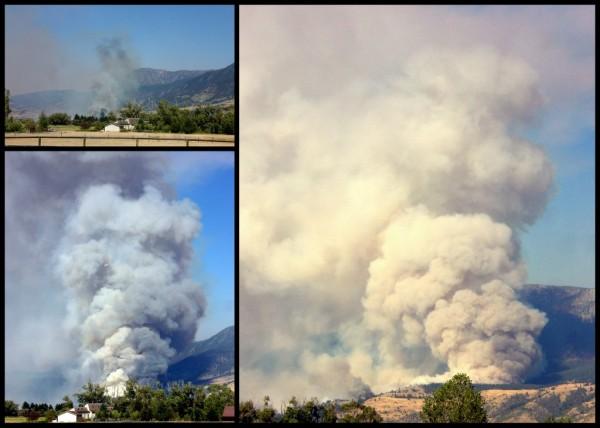 8/29 fire Pine Creek  Montana