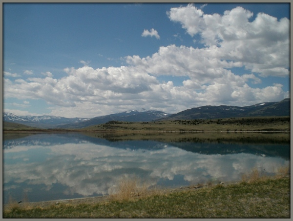 high desert lake