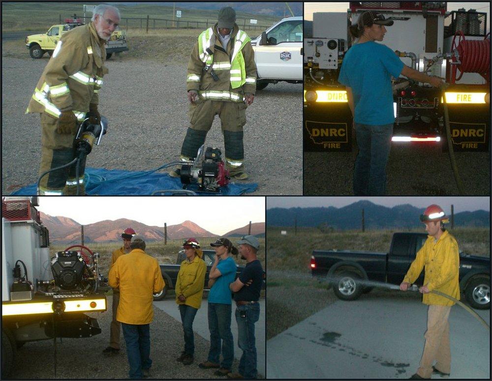 Rural Firefighter Training
