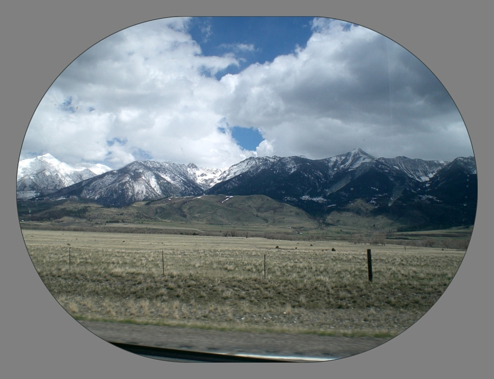 Drive-by Mountainscape