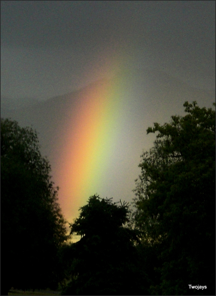 A rainbow for you.