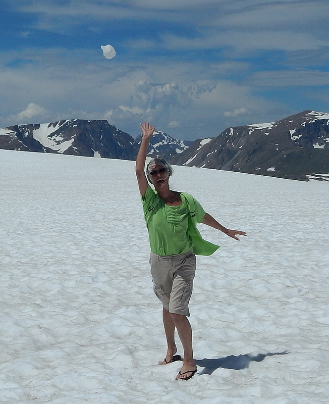 Snowball in July