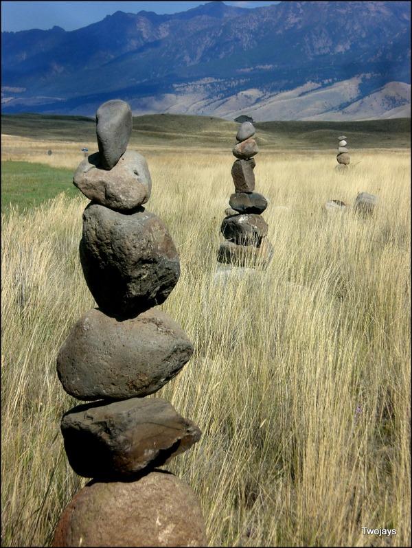 Montana rock balance