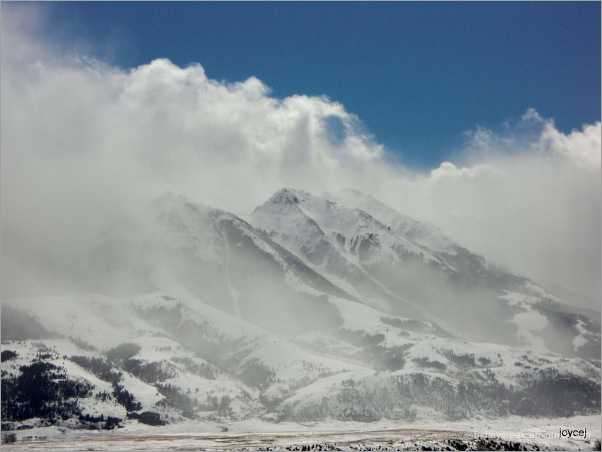 Spring Snow Show on Emigrant Peak