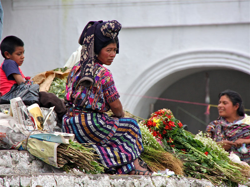 Chichicastenango's indian market