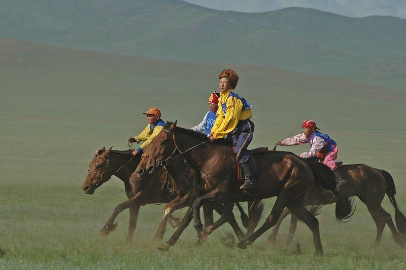 Naadam in Mongolia