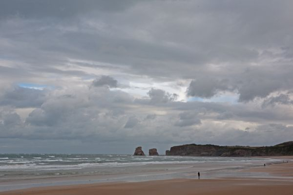 Hendaye's beach