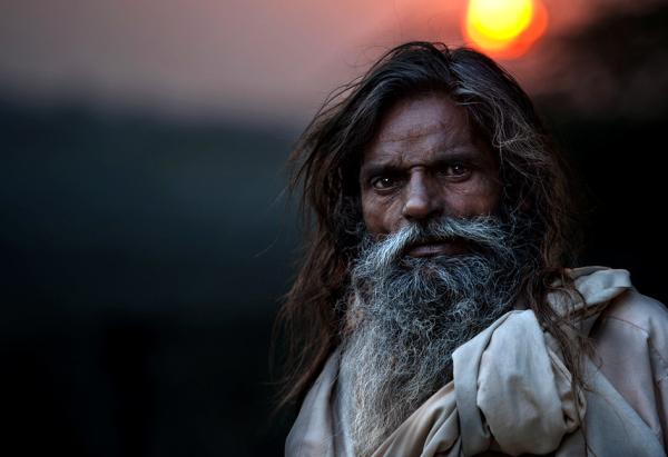 Dusk in Agra