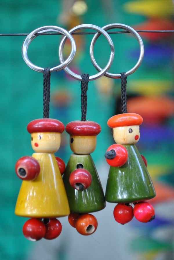 Hanging Dolls.