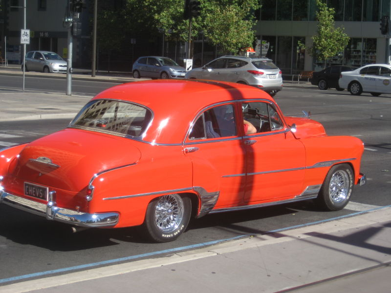 An old Chevy in Adelaide