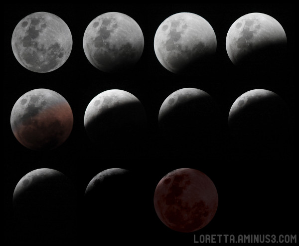 Total eclipse 15 June 2011