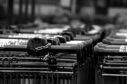 caddie supermarché consommation  roanne