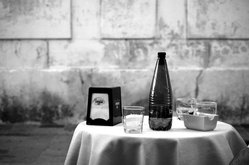 venise italie nature morte café table dorsoduro