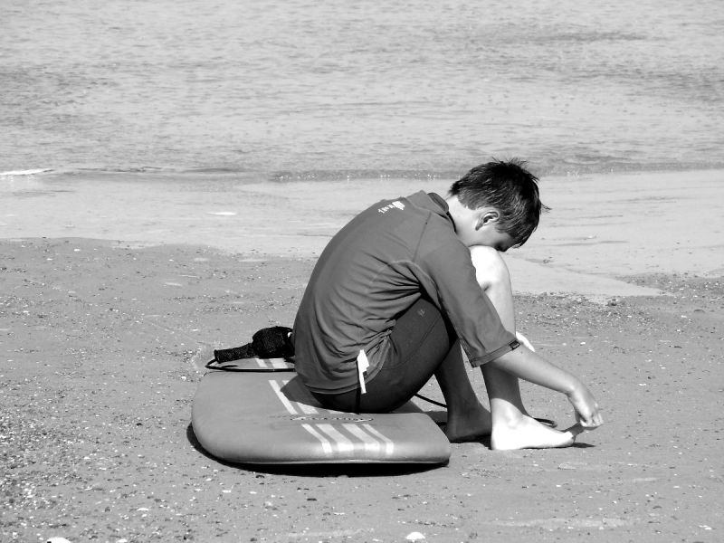 sable plage moliets landes surf