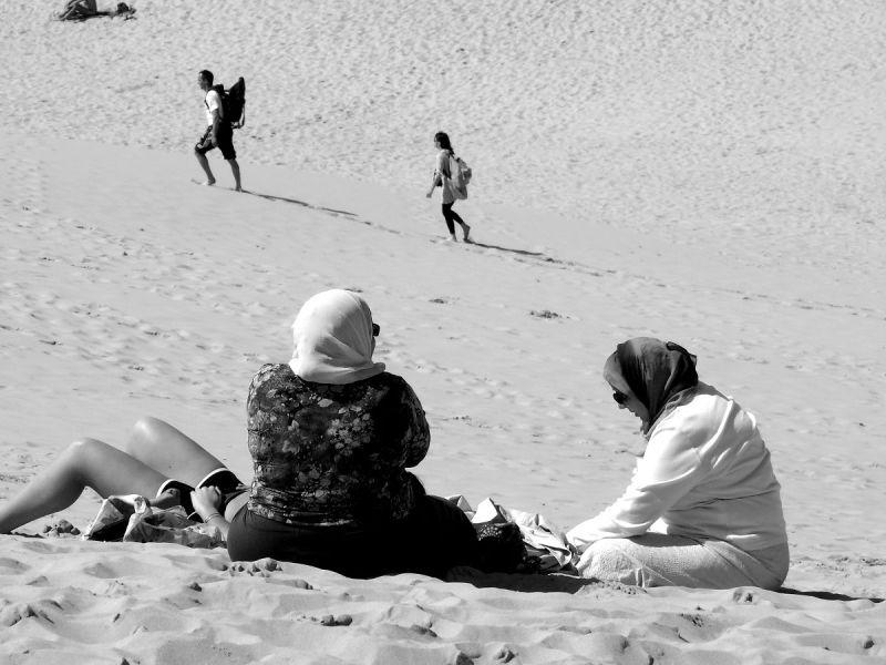 sable landes dune pyla famille