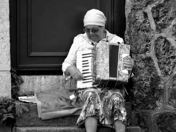 accordéoniste montmartre musique paris