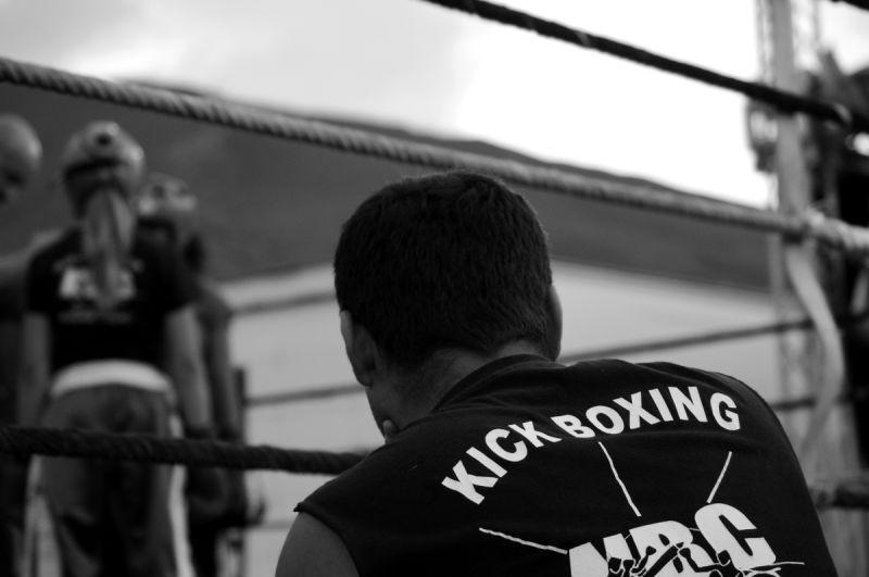 sport boxe thaï combat la toussuire savoie
