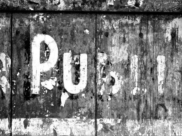 lettres mur publicité neaux