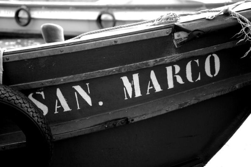 bateau venise marco italie canal