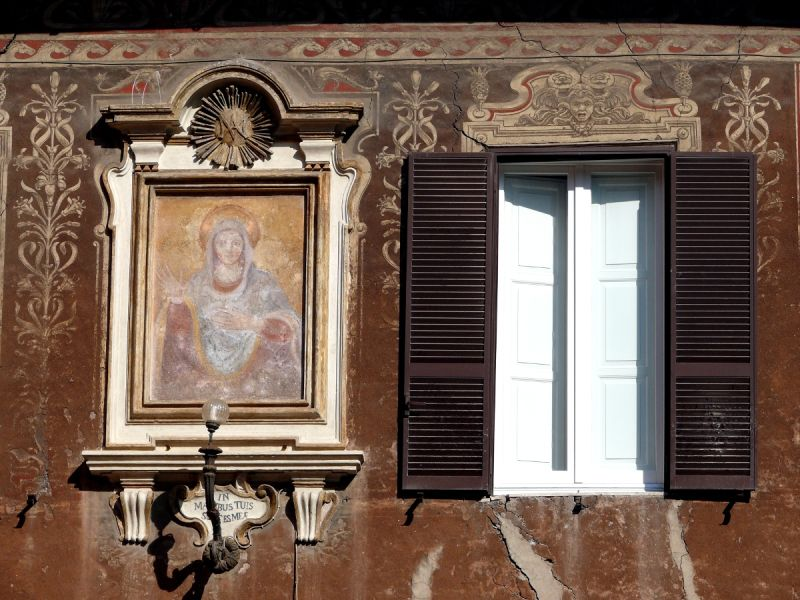 rome italie fenêtre