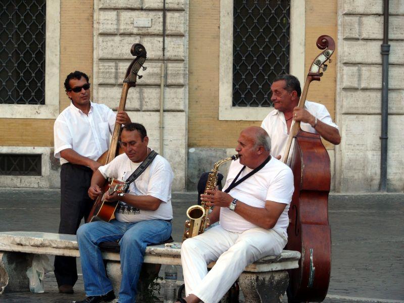 rome navona musique jazz