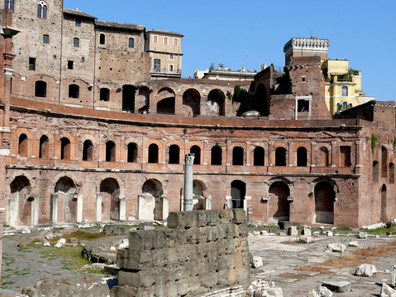 rome italie trajan forum