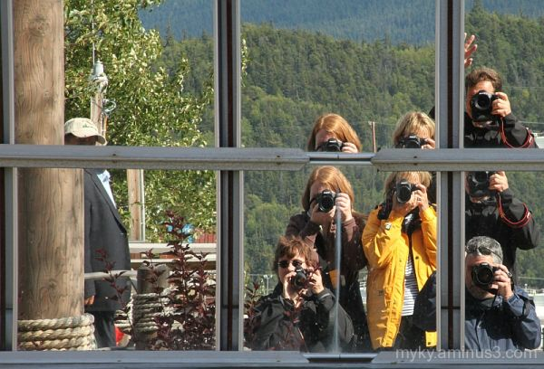 What are they Photographing...