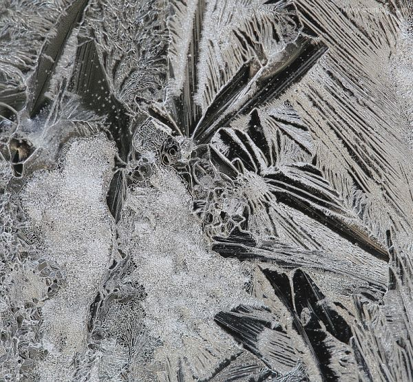 Frost on Glass - 2