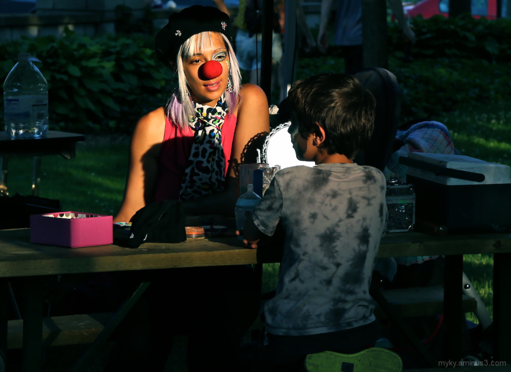 The Wistful Face Painter