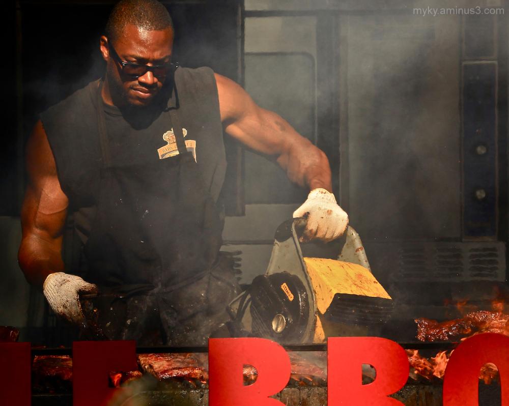 BBQ Rib Competition...
