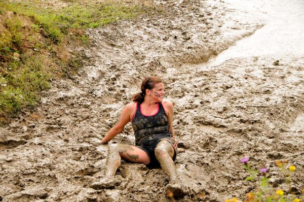 one mud bath
