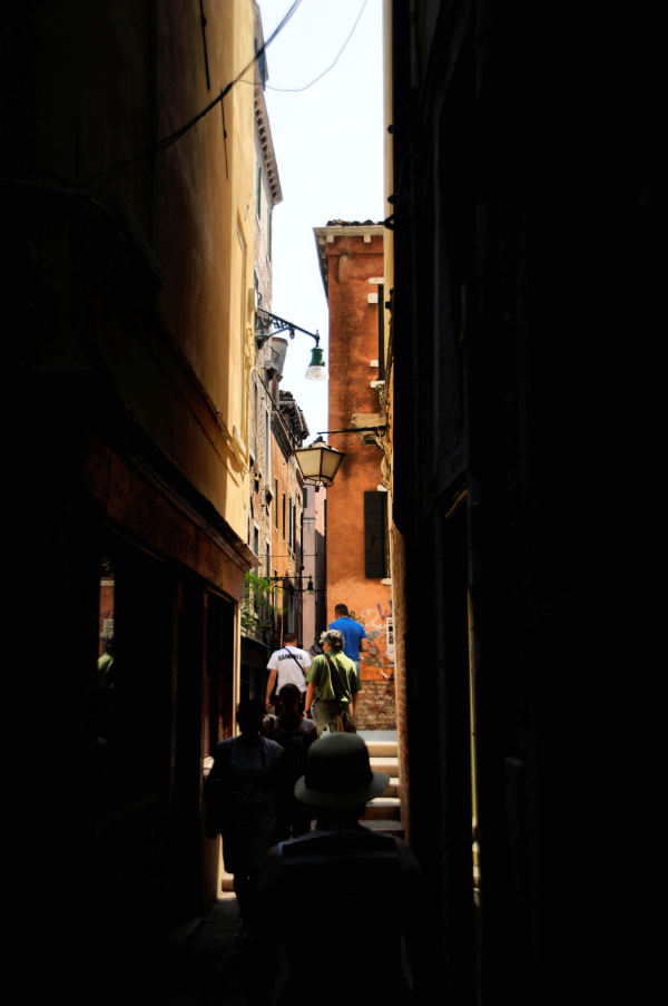 in the alleyways