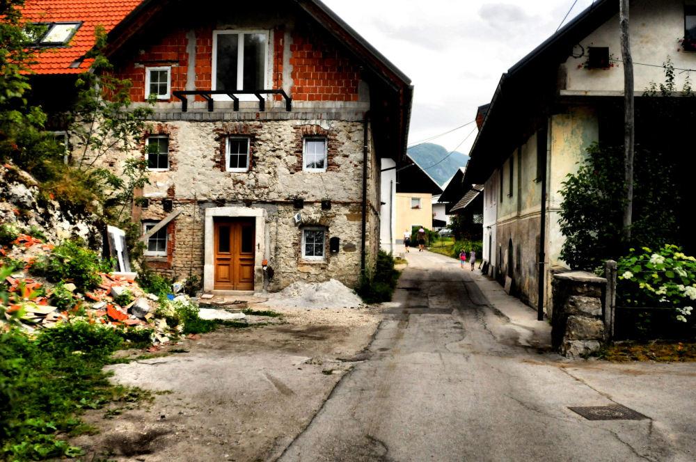 Bavarian style houses