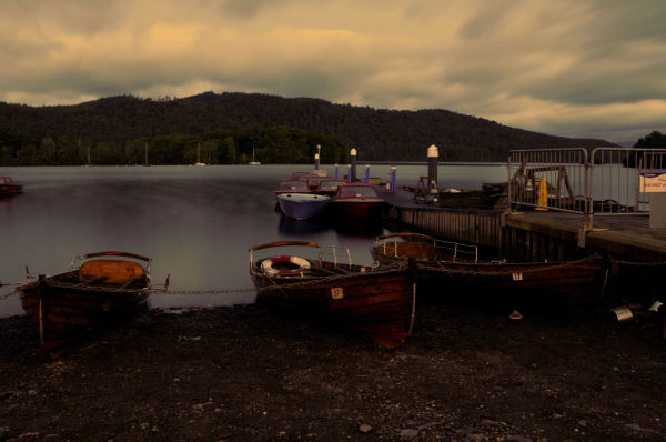 Boat hire at Windermere