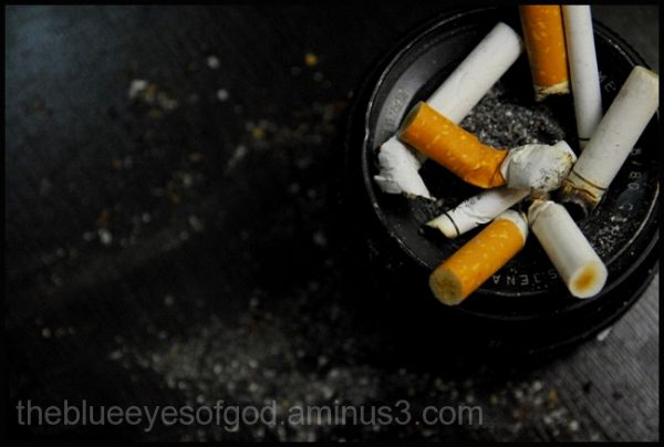 the short life of a cigarett