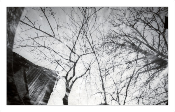 camer obscura, pinhole camera, foma paper negativ