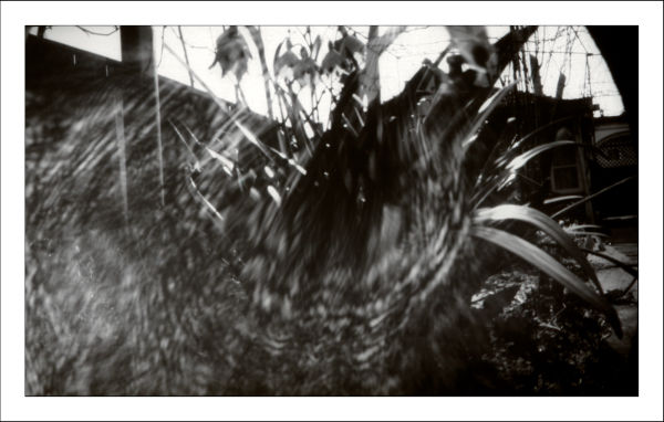 camera obscura, pinhole camera, foma paper negativ