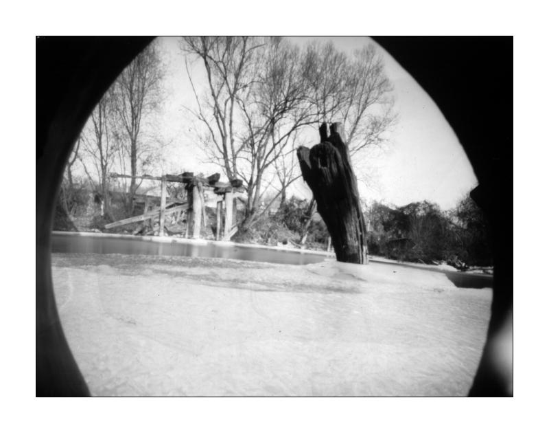 homemade pinhole camera