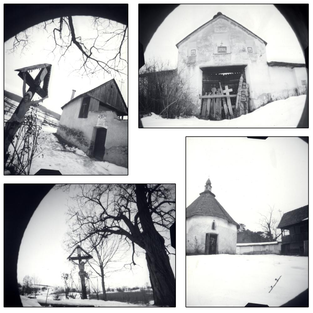 home-made pinhole camera, foma paper negativ